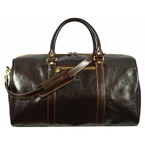 Time Resistance Ambassadors Duffel Bag - Dark Brown