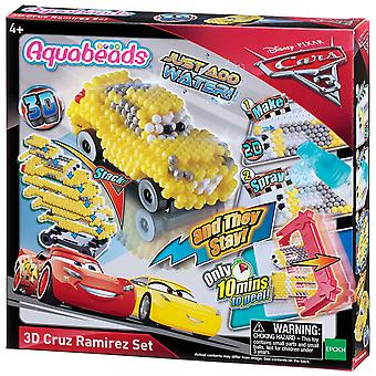 Aquabeads Cars 3 Cruz Ramirez 3D Set