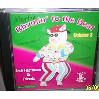 Jack Hartmann - Rhymin to the Beat Vol. 2 [CD] USA import