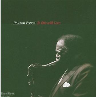 Houston Person - Etta med kærlighed [CD] USA import