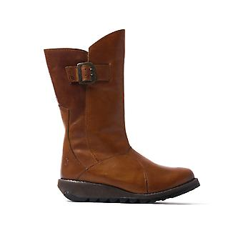 Women's Seda Tall Boots - Camel Suede