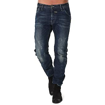 G-Star Riley Loose Tapered Rugby Wash Arizona Denim Jeans