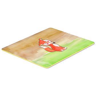 كارولين BB7436CMT الكنوز فوكس المطبخ الألوان المائية أو حمام حصيرة 20 x 30