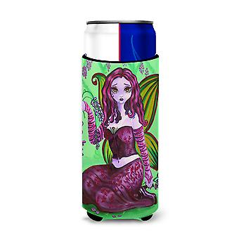 Fairy Lady Wisteria Michelob Ultra beverage insulators for slim cans