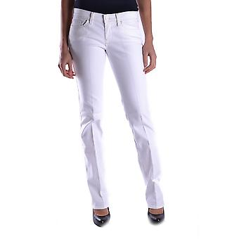 7 for all mankind women's MCBI004021O white cotton of jeans