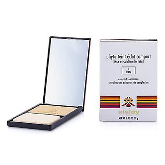 Phyto Teint Eclat Compact Foundation - # 1 Ivory - 10g/0.35oz
