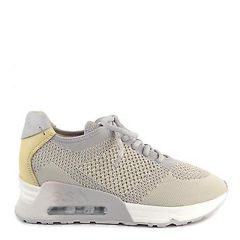 Ash Footwear Lucky Knit Pearl And Chic Trainer