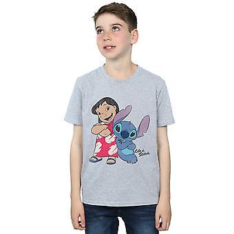 Disney Boys Lilo & Stitch Classic Lilo & Stitch T-Shirt