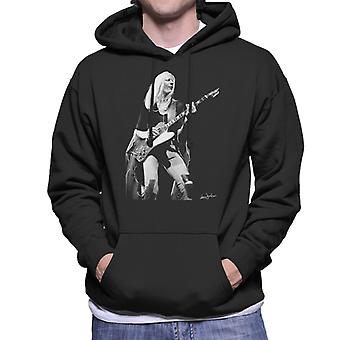 Johnny Winter Gibson Firebird 1974 Men's Hooded Sweatshirt