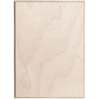 Baltic Birch Rectangle Plaque 5