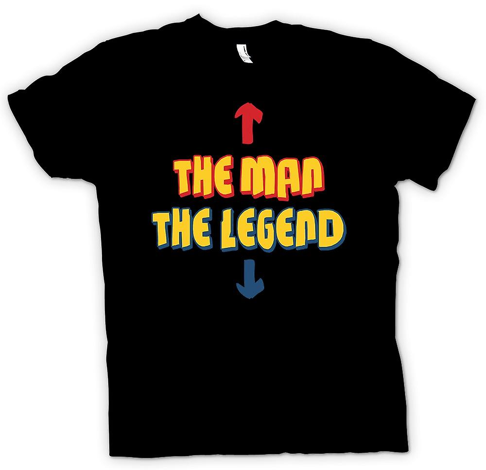 Mens T-shirt - The Man, The Legend - Funny