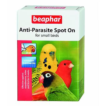 Beaphar Anti Parasite Spot On For Budgies 10g Small Birds 4 week Treatment
