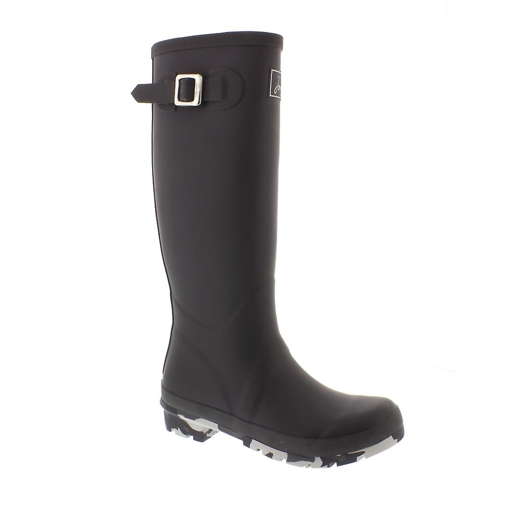 Joules Field Welly - Grey (Rubber) Womens Wellies