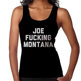 Joe Fucking Montana Women's Vest