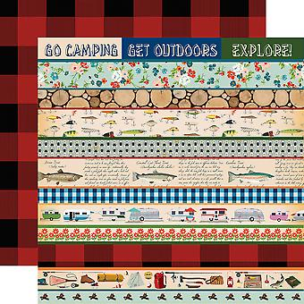 Gone Camping Double-Sided Cardstock 12