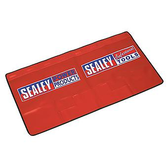 Sealey Vs856 Wing Cover With 4 Pockets Workshop Magnetic