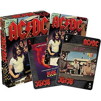 Ac/Dc Set Of Playing Cards (Lp Covers) (Nm 52468)