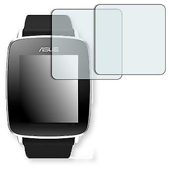 ASUS VivoWatch screen protector - Golebo crystal-clear protector (deliberately smaller than the display, as this is arched)