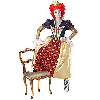 Red Queen Queen Kosatüm Alice in Wonderland for ladies
