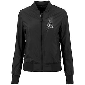 Merchcode ladies - LINKIN PARK Leicht bomber jacket black
