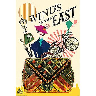 Disney Mary Poppins returns poster wind in the East