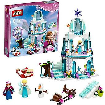 316 PCs compatible with Lego dream Princess Elsa Friends ice Castle Princess Anna Set Model building blocks Gifts Toys