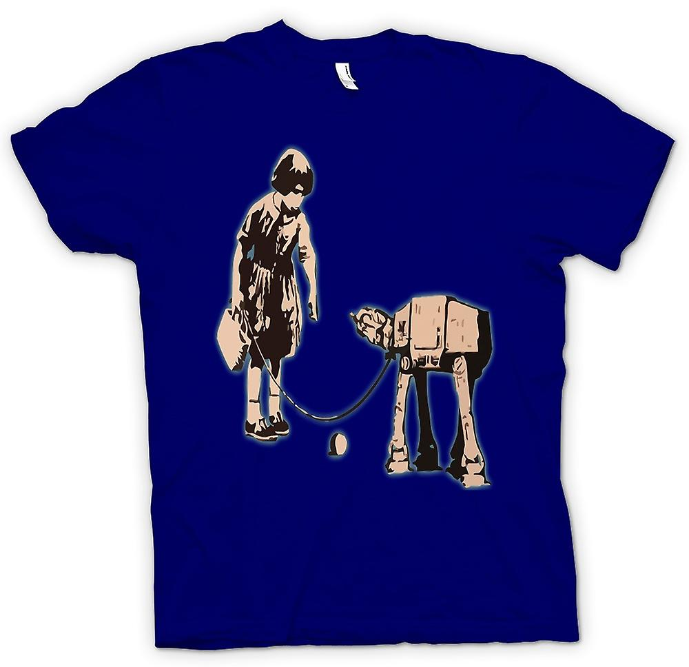 Mens T-shirt - Banksy Graffiti Art - Fetch