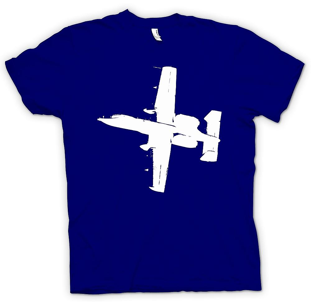 Herr T-shirt - A10 Thunderbolt Tank Buster - Awesome Fighter