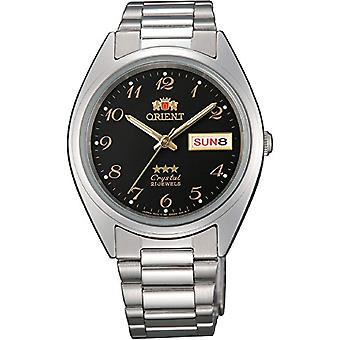 Orient Automatic Unisex analogue watch with stainless steel band FAB00003B9