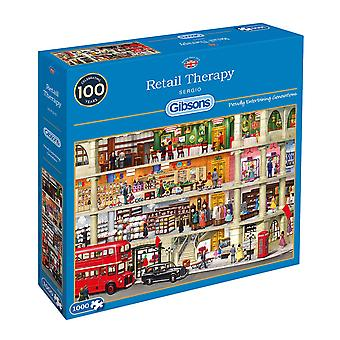 Gibsons Retail Therapy Jigsaw Puzzle (1000 Pieces)