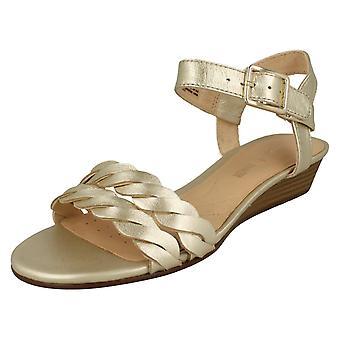 Clarks Damen Keil Sandaletten Mena Blossom