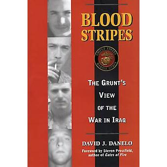 Blood Stripes - The Grunt's View of the War in Iraq by David J. Danelo
