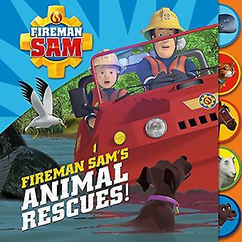 I salvataggi degli animali del pompiere Sam! di Egmont UK Ltd-9781405287159 libro