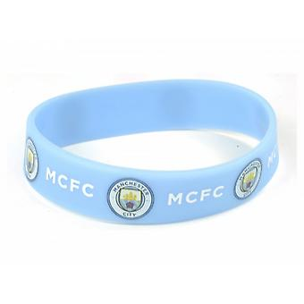 Manchester City FC officiële voetbal siliconen armband