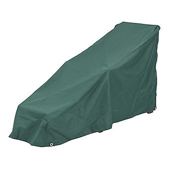 Steamer Lounger Weather Cover Fully Waterproof  Dark Green