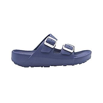 Revo Boys Flip Flops Eva Double Buckle Slide Sandal