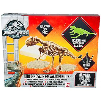 Jurassic World Duo Dinosaur Excavation Kit