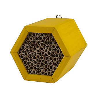 Honeycomb Modular Mason bee House With Refillable Nest tubes.