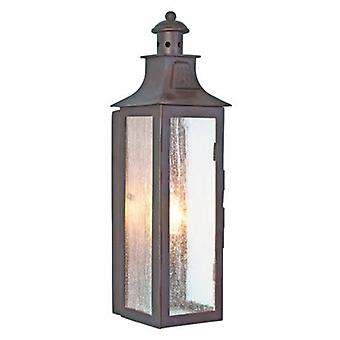 1 Light Outdoor Wall Lantern Light Old Bronze Ip44