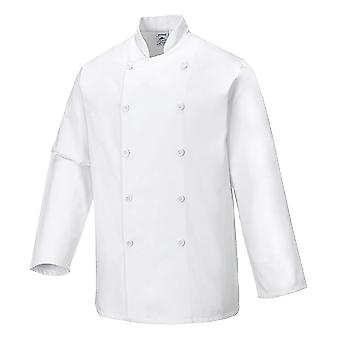 Portwest sussex chefs jacket c836