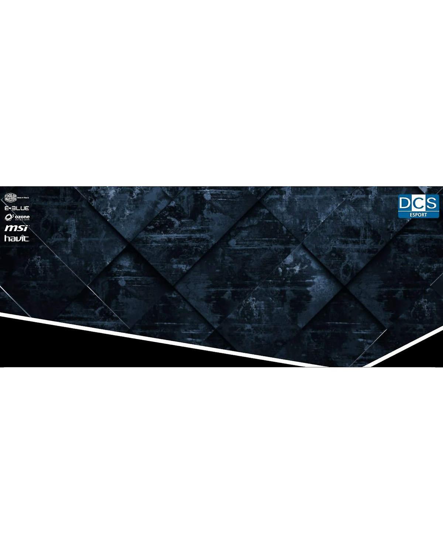 DCS ESPORT musmatta xl 70x30cm