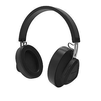Bluedio wireless headphone with mic - black