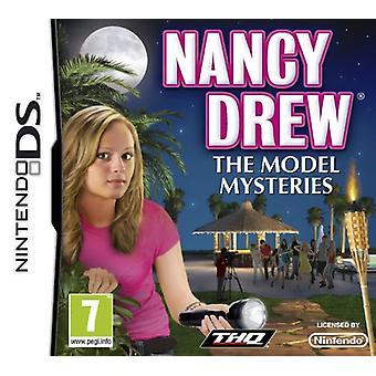 Nancy Drew The Model Mysteries (Nintendo DS) - Factory Sealed