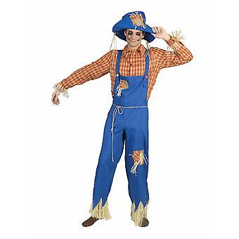 Costume di spavento uomo Costume di paglia bambola ringraziamento Costume maschile