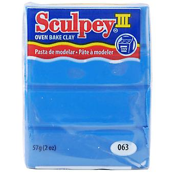 Sculpey Iii Polymer Clay 2 Ounces New Blue S302 063