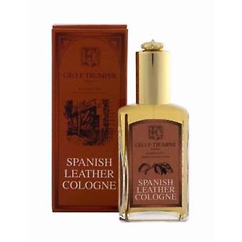 Geo F Trumper Spanish Leather Cologne Glass Bottle 50ml