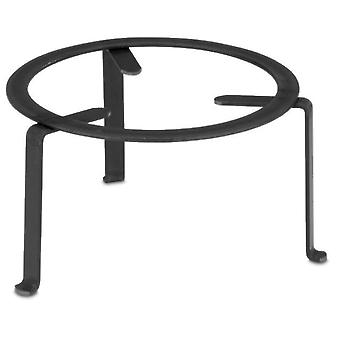 Comgas Round wrought iron stand Ø 40 cm. (Garden , Barbecues , Cooking tools)