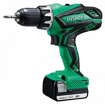 Hitachi Hammer drill-screwdriver 14.4 V 1.5 Ah Lithium 2 Slide