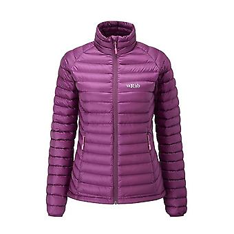 Rab Womens Microlight Jacket Berry (Size UK 14)