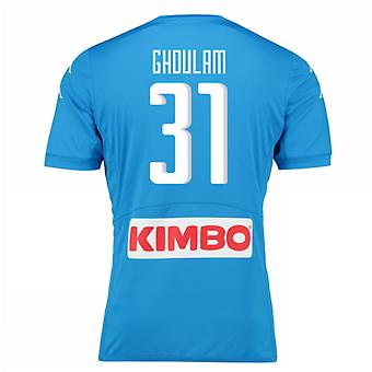 2016-17 Napoli Authentic Home Shirt (Ghoulam 31)